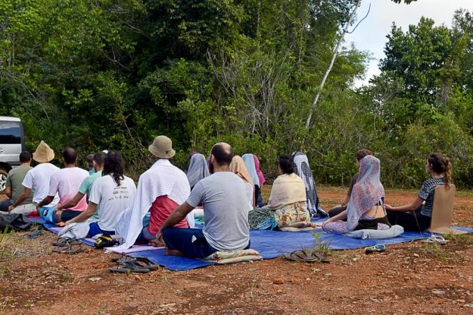 Primeira meditação no terreno